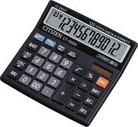 Калькулятор Citizen CT-555N бухгалтерский с коррекцией, 12р.