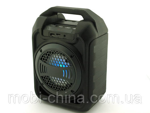Колонка - чемодан B30 9W boombox с караоке FM MP3, фото 2