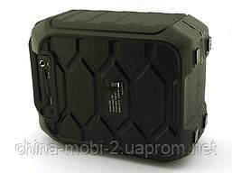 Колонка - чемодан B30 9W boombox с караоке FM MP3, фото 3