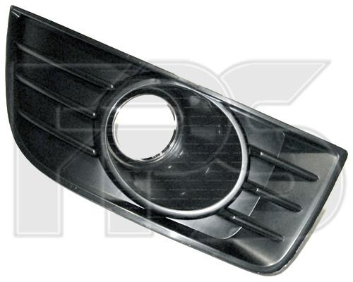 Решетка бампера Chevrolet Epica 07-12, под ПТФ, левая, (FPS)