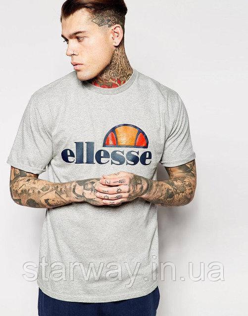 Футболка серая Ellesse logo