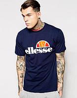 Футболка тёмно-синяя Ellesse logo