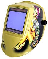 Маска сварочная Хамелеон WH 9801 рис. Девушка с tatoo