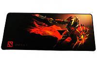 Геймерский коврик, игровая поверхность Dota 2 Dragon Knight 30х70см, фото 1