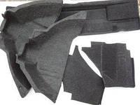 Обивка багажника ВАЗ 2108 ворс с арками (к-кт 5 шт) ДЭЛ. 2108-5004210/10/31/33