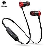 BASEUS S07 Bluetooth 4.1 беспроводные музыкальные Apt-X наушники для спорта black, Silver (черные, серебро), фото 1