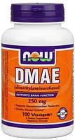 DMAE 250 mg (100 caps) Диметиломиноэтанол NOW