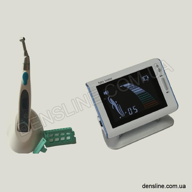 Портативный беспроводной эндомотор + апекслокатор на аккумуляторе - Набор NaviStom
