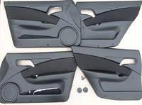 Обивка двери ВАЗ 2110 (к-кт 4 шт) Люкс. 2110-610/6202012/13