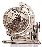 Глобус (механический деревянный конструктор)