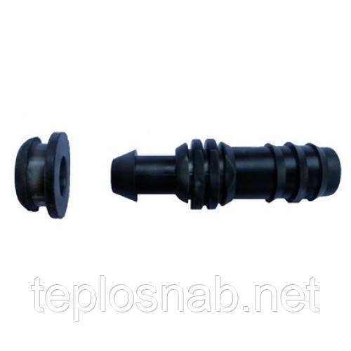 Стартовая муфта для капельной трубки с уплотнительной резинкой