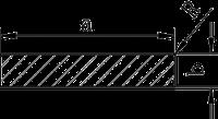 Алюминиевая полоса | Под заказ. Ширина 50-140 мм.