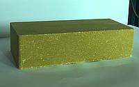 Кирпич облицовочный гладкий желтый