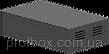 Корпус металевий MB-41 (Ш240 Г140 В65) чорний, RAL9005(Black textured)