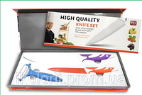 Набор ножей HIGH QUALITY KNIFE SET HQ 2 ножа и овощечистка