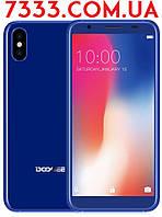 Смартфон Doogee x55 Blue Голубой + Бампер