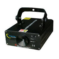 Мощный Лазерный диско проектор лазер цветомузыка Лазерная установка Т-6350RGY, фото 1
