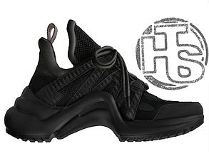 Мужские кроссовки Louis Vuitton LV Archlight Sneaker All Black