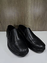Туфли мужские из натуральной кожи МИДА 110518, фото 2