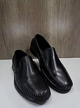 Туфли мужские из натуральной кожи МИДА 110518, фото 3
