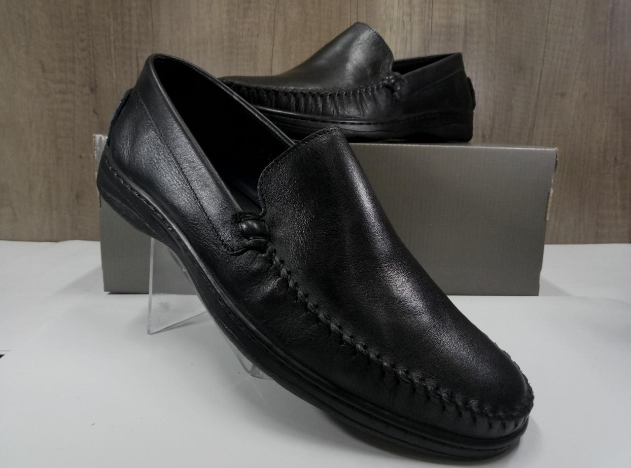 Туфли мужские из натуральной кожи МИДА 110518