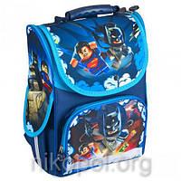 """Рюкзак школьный """"SMILE - Lego Супергерои"""", ортопедический, коробка 34,5х25,5х13см."""