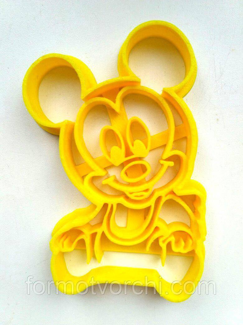 """3D формы-вырубки для пряников """"Микки-Маус 4"""""""