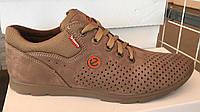 Мужские летние спортивные туфли Ecco Biom ,перфорация ,натуральная замша, фото 1