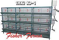 Клетка КР-1/108 для несушек и бройлеров на поддоне - 108 голов (разборная)
