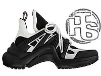 Женские кроссовки Louis Vuitton LV Archlight Sneaker Black White 1A43K5 3457bc04b5d7e