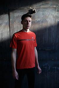 Мужская футболка Adidas KD-C5.Оранжевая