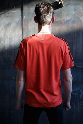 Мужская футболка Adidas KD-C5.Оранжевая , фото 2