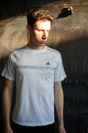 Мужская футболка Adidas KD-C5.белая, фото 2