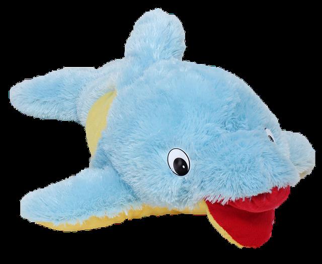 Мягкая игрушка Дельфин, Рыба, Кит.