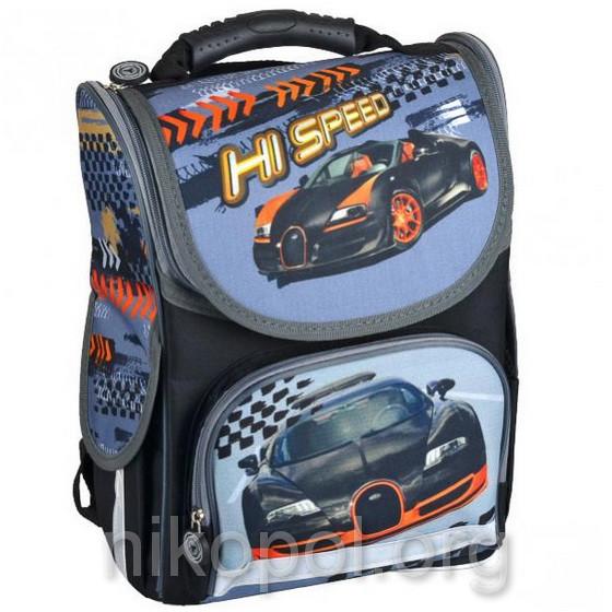 """Рюкзак школьный """"SMILE - Скоростное авто"""", ортопедический, коробка 34,5х25,5х13см."""