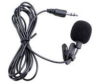 Микрофон Jack 3,5 мм с Клипсой Петличка