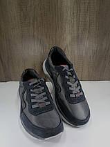 Подростковые кроссовки из натуральной замши+текстиль МИДА 31226, фото 2
