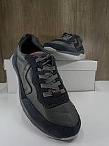 Подростковые кроссовки из натуральной замши+текстиль МИДА 31226, фото 3