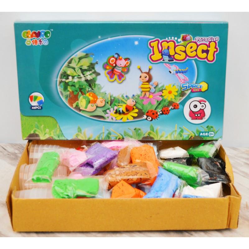 Тесто (Жидкий пластилин) 48 пакетиков