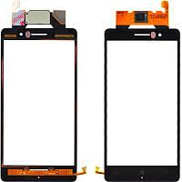 Nokia Lumia 830 сенсорний екран, тачскрін чорний