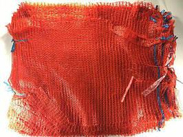 Сетка-мешок для овощей, красная, на 20кг, 16 грамм