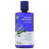 Avalon Organics, шампунь для густоты волос, комплексная терапия с биотином B, 14 жидких унций (414 мл)