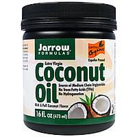 Jarrow Formulas, Органическое кокосовое масло Extra Virgin, 16 унций (473 г)