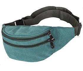 Мужская текстильная сумка Q001-14GREEN зеленая