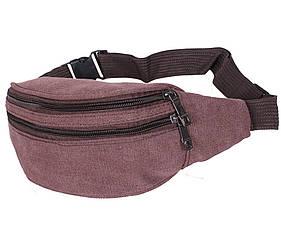Мужская текстильная сумка Q001-15COFFEE коричневая