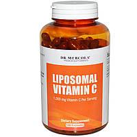 Dr. Mercola, Липосомальный витамин C, 180 капсул