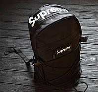 Рюкзак Supreme Backpack Bag Red / красный / черный / желтый / синий