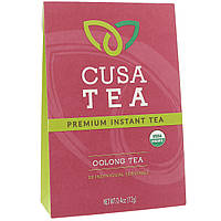 Cusa Tea, Органический продукт, Чай улун, 10 индивидуальных порций, 0,04 унц. (1,2 г) в каждом