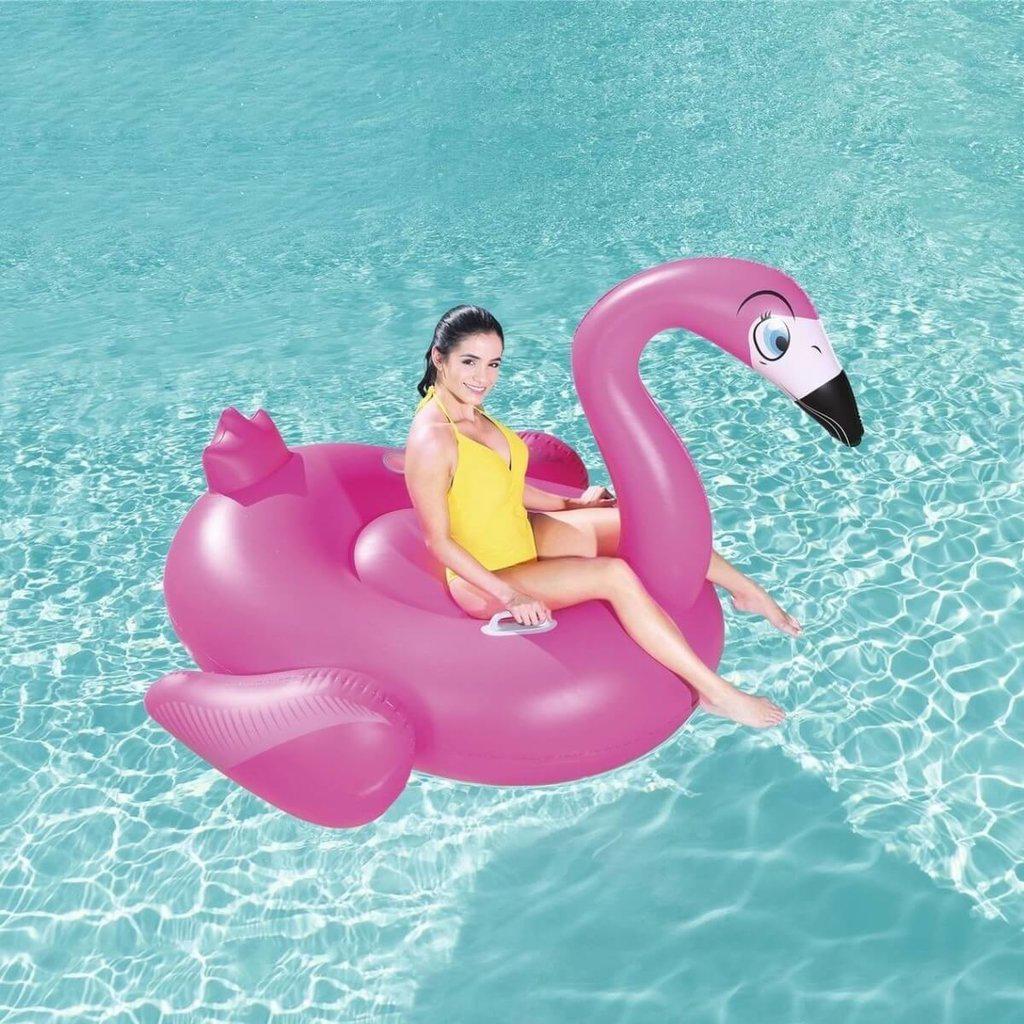Надувной плот Фламинго Большой 218*211*136 см