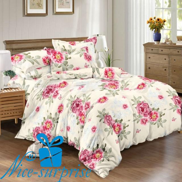 купить сатиновый комплект постельного белья в Харькове